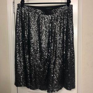 Lane Bryant sequin midi skirt size 18/20